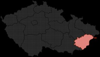 edbf7f0d751 Mapa Zlínský kraj